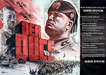 Blood on the balcony / Benito Mussolini