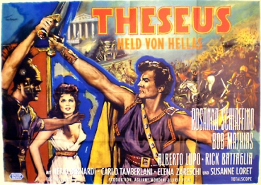 Theseus, Held von Hellas