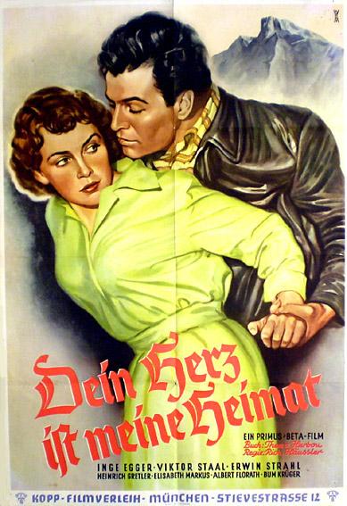 Dein Herz Ist Meine Heimat Postertreasures Com Your 1 St Stop For Original Concert And Movie Poster S Vintage