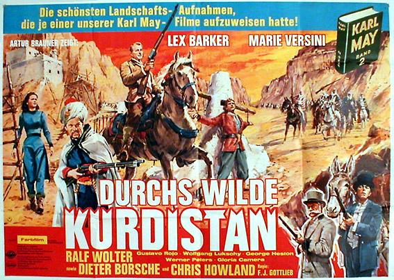 Durchs wilde KurdistanPostertreasures.com - Die erste Wahl für Kino -  Konzertposter - Filmplakate - große Auswahl - Postertreasures.de