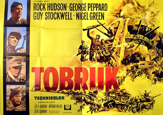 Tobruk 1966 - Postertreasures.com - Your 1.st stop for original ...