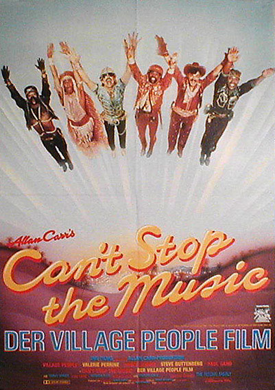 cant stop the music movie poster