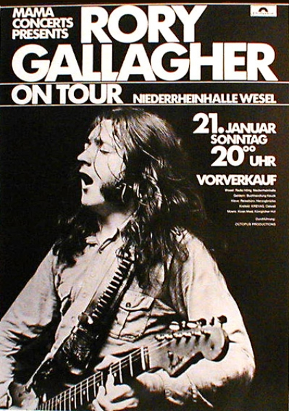 Rory Gallagher 1972
