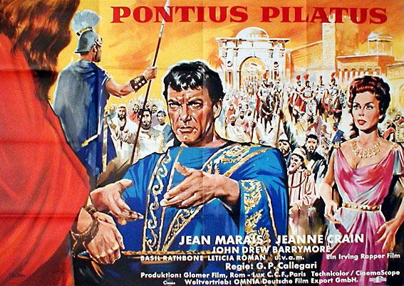 Pontius Pilate / Ponzio Pilato - Postertreasures.com - Your 1.st ...