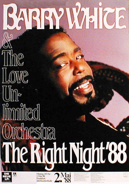 Barry White 1988